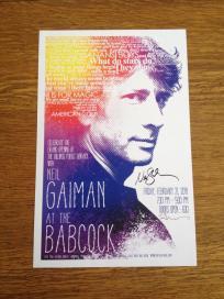 Neil Gaiman Poster